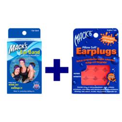 Macks´s ujumiskomplekt lastele kõrvatropid ja peapael