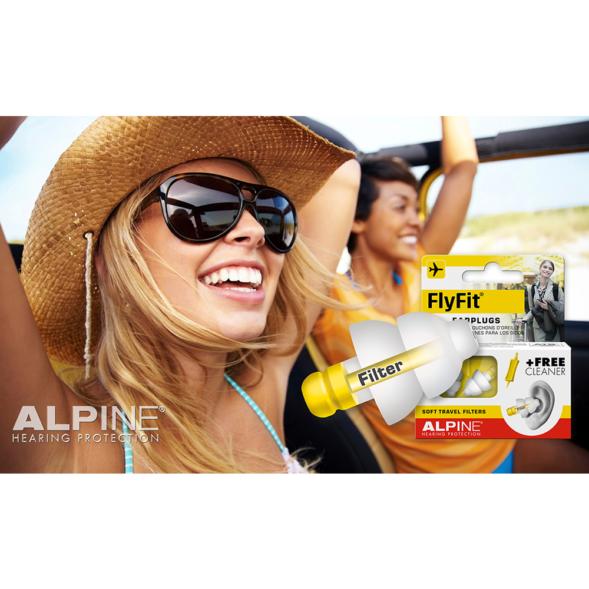 Alpine FlyFit kõrvatropid reisimiseks