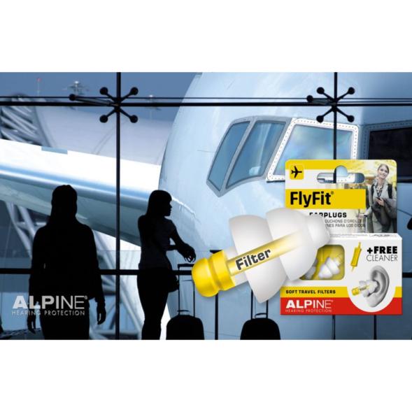 Alpine FlyFit korvatropid