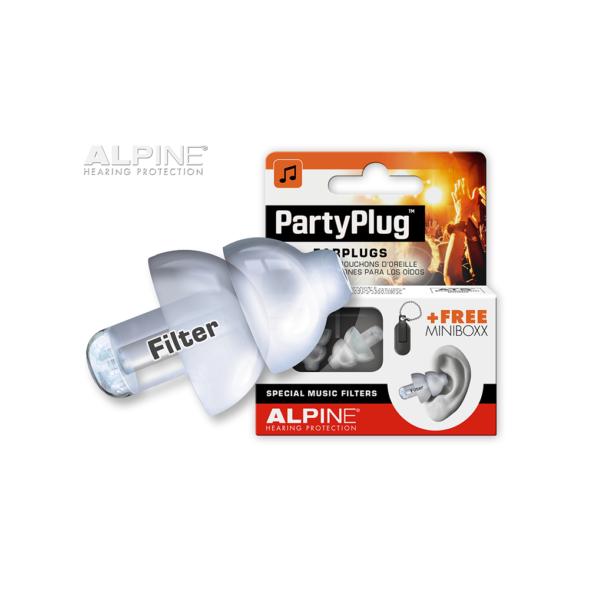 Alpine PartyPlug korvatropid festivaliks