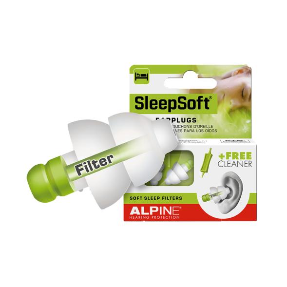 Alpine SleepSoft kõrvatropid magamiseks01