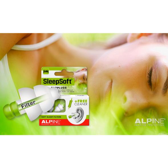 Alpine SleepSoft kõrvatropid magamiseks02