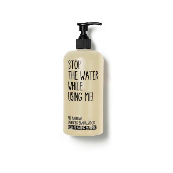Stop The Water All Natural lavendli-sandlipuu taastav šampoon