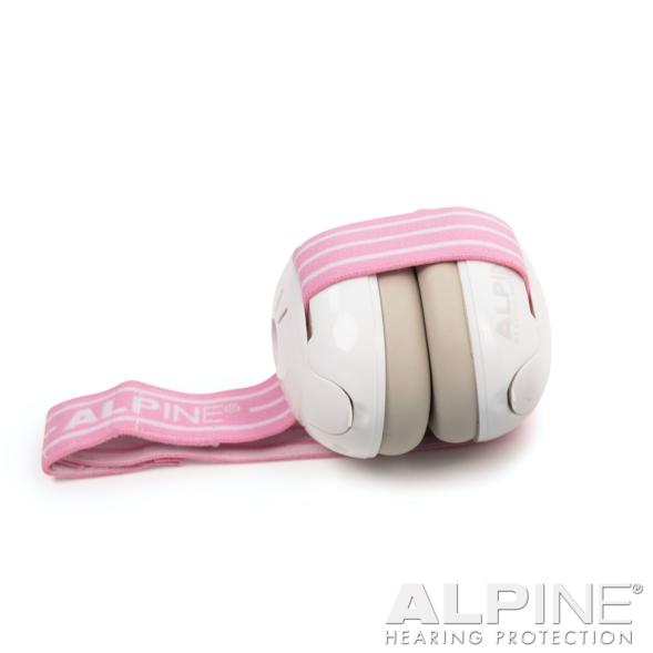 Alpine Muffy Baby kõrvaklapid beebidele roosa-valge_03