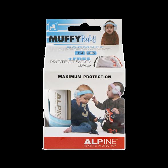 Alpine Muffy Baby kõrvaklapid beebidele sinine-valge