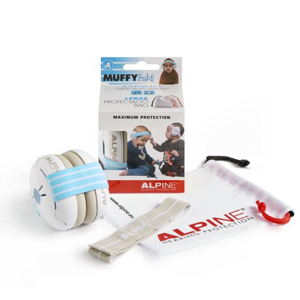 Alpine Muffy Baby kõrvaklapid beebidele sinine-valge_01