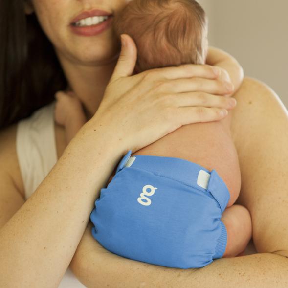 gDiapers mähkmepüksid - Gigabyte Blue gPants - ema ja laps