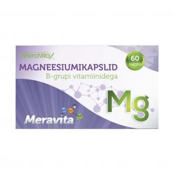 Meravita magneesiumikapslid B-grupi vitamiinidega