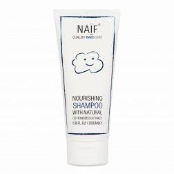 NAÏF niisutav šampoon puuvillaseemne ekstraktiga 200ML 1500x1500
