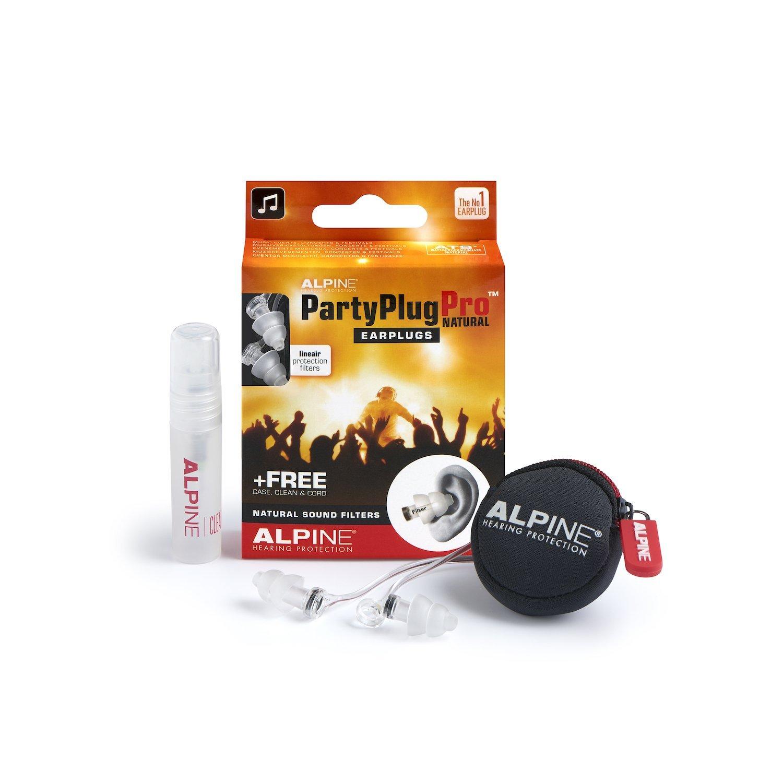 Alpine PartyPlug Pro Natural kõrvatropid kontserdiks